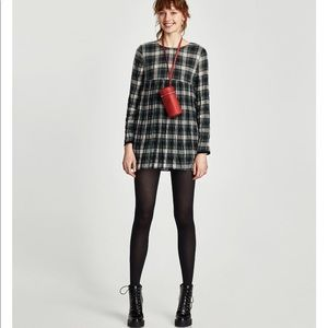 Checked Jumpsuit Dress, NWT